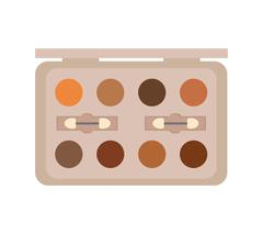 Make up and Cosmetic. Powder icon. vector graphic Stock Illustration