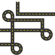 Urban lifestyle concept. Street way icon. vector graphic - stock illustration