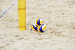 Volleyball Beach Stock Photos