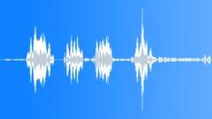 Deep alien voice talking - sub freq 03 - sound effect