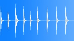 Nine door slams - 1 bit dsd at 28 mhz Sound Effect