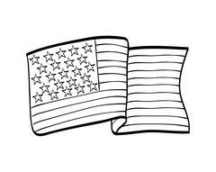 Usa design. flag  icon. vector graphic Stock Illustration