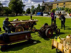 Steam engine fair Stock Photos