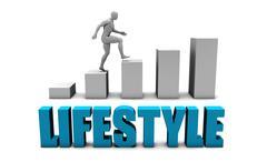 Lifestyle Stock Illustration