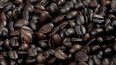 Falling Coffee Bean Stock Footage