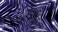 Stars Glitter Shine Loop Stock Footage