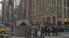 Radio City Traffic, NYC Stock Footage