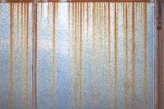 Rusty steel board Stock Photos