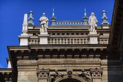 The opera house in Budapest Stock Photos