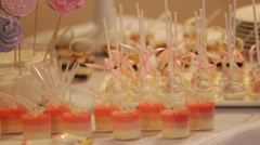 original wedding decorations - stock footage