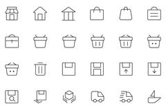 User Interface Icons - stock illustration