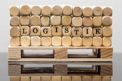 concept logistic - stock photo