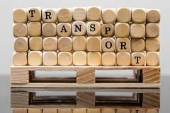 concept transport and  logistic - stock photo
