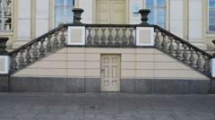 Library in Bydgoszcz, Poland Stock Footage