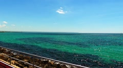 Panorama of Palma de Mallorca, Spain - stock footage