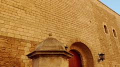 Royal Palace of La Almudaina of Palma, Majorca Stock Footage