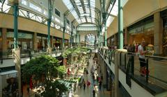 Europe Germany NRW Oberhausen shopping center entertainment amusement park Stock Photos