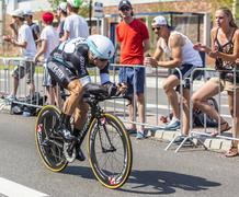 Utrecht,Netherlands - 04 July 2015: The Cyclist Mark Renshaw - stock photo