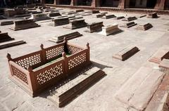 Fatehpur Sikri, Agra, Uttar Pradesh, India Stock Photos