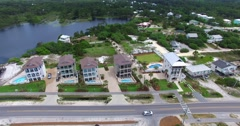 Aerial 4K video of Palm Beach. Amazing bird's view. Dolphins. Stock Footage