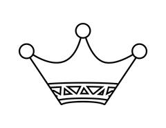 Crown icon. Vip and luxury design. vector graphic Stock Illustration