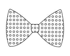 Bowtie icon. Suit male part design. vector graphic - stock illustration