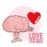 Love design. feelings icon. Colorfull illustration Stock Illustration