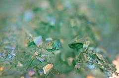Crystals Agate SiO2 silicon dioxide. Macro Stock Photos