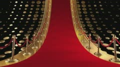 Awards Show Background Loop  Stock Footage