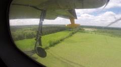 Albatross Airplane Landing Stock Footage
