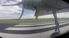 Albatross Airplane Take Off Stock Footage