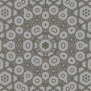 Ornamental Backdrop. Ornate Floral Decor - stock illustration