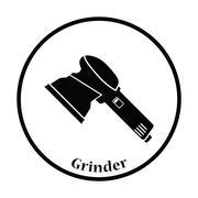 Icon of grinder Stock Illustration