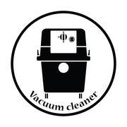 Icon of vacuum cleaner Stock Illustration