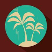 Travel design. trip icon. Isolated illustration - stock illustration