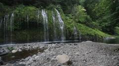 Mosbrae falls, Dunsmuir, California Stock Footage