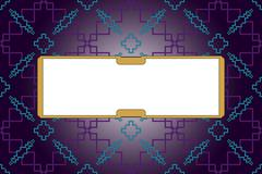 Bright background with dark purple gradient. - stock illustration