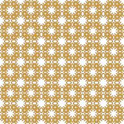 Seamless image of the elements yellow gold color. - stock illustration