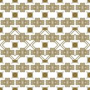 Complex for embroidery geometric patterns Stock Illustration
