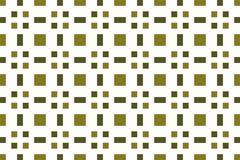Seamless image circles of olive light and dark shades. Mosaic pa - stock illustration