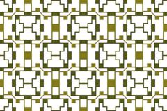 Seamless image circles of olive light and dark shades. Mosaic pa Stock Illustration