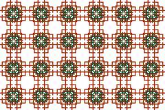 Seamless image of the elements goldline interlacing. Stock Illustration