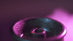 Tobacco pours close-up Stock Footage