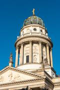 German cathedral at the Gendarmenmarkt Stock Photos