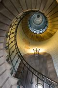 Infinity lighthouse stairs Stock Photos