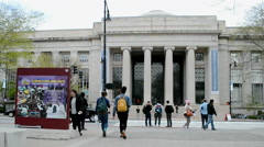Cambridge campus at the Massachusetts Institute of Technology (MIT), Boston,USA. Stock Footage