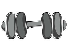 Weight icon. Heavy weight design. vector graphic - stock illustration
