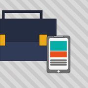Digital Marketing design. Media icon. Colorfull illustration, graphic - stock illustration