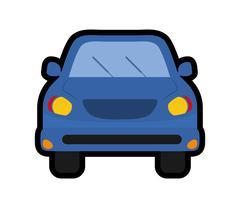 car or automobile icon. Transportation design. vector graphic - stock illustration