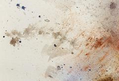 Abstract painting with blurry and stained structure. metal rust effect with Stock Illustration